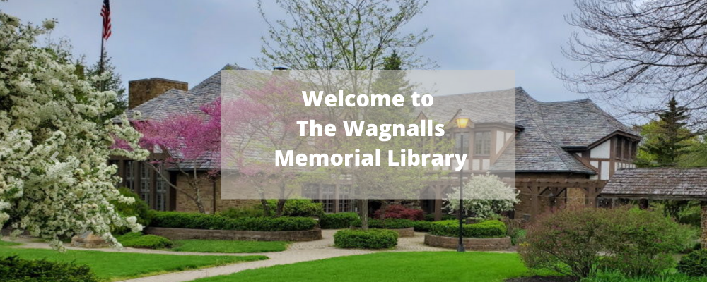 Welcome To The Wagnalls Memorial Library